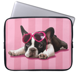 French Bulldog Puppy Computer Sleeves