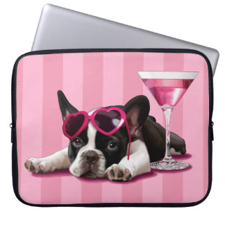 French Bulldog Puppy Laptop Computer Sleeves