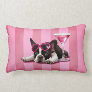 French Bulldog Puppy Lumbar Pillow