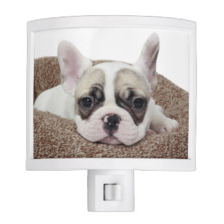 French Bulldog Puppy Lying In A Dog Bed Night Light