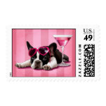 French Bulldog Puppy Postage Stamps