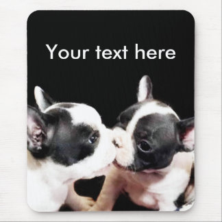 French bulldog pups mousepad