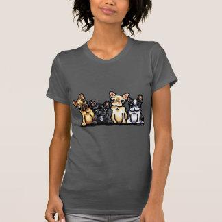 French Bulldog Quartet T-Shirt
