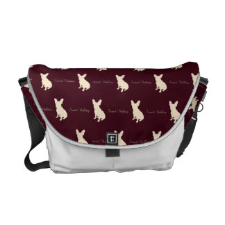 French bulldog RD Courier Bag