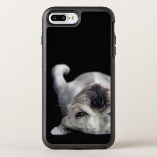 French Bulldog Resting On His Back OtterBox Symmetry iPhone 7 Plus Case