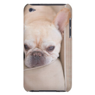 French bulldog resting on sofa barely there iPod case