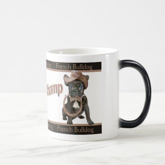 French Bulldog Rodeo Champ Magic Mug