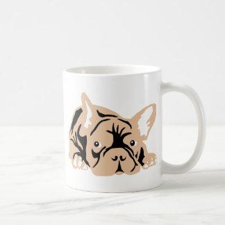 French Bulldog rose Coffee Mug