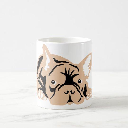 French Bulldog rose Magic Mug