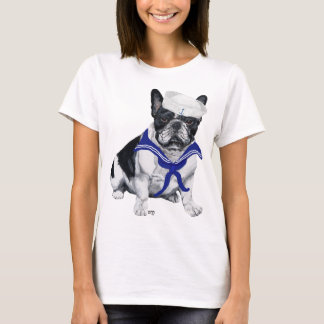 French Bulldog Sailor T-Shirt