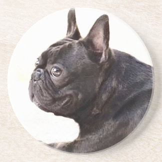 French Bulldog Sandstone Coaster