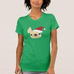 French Bulldog Santa T-Shirt