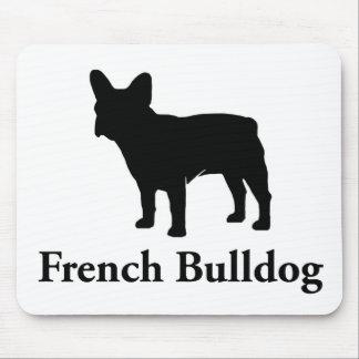 French Bulldog Silhouette Mousepads