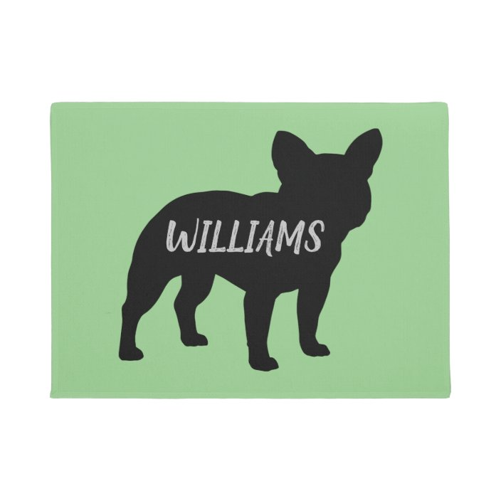 French Bulldog Silhouette Personalized