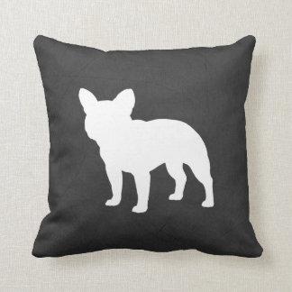 French Bulldog Silhouette Pillow