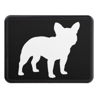 French Bulldog Silhouette Trailer Hitch Covers