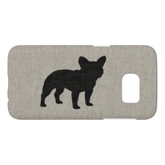 French Bulldog Silhouette Samsung Galaxy S7 Case