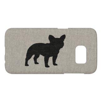 French Bulldog Silhouette Samsung Galaxy S7 Case