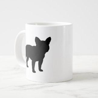 French Bulldog Silhouettes Giant Coffee Mug