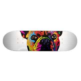 French Bulldog Skateboard Deck