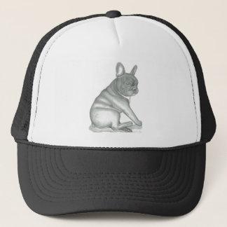 French Bulldog sketch trucker hat. Trucker Hat