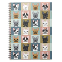 French Bulldog stationery journal notebook