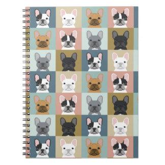 French Bulldog stationery journal notebook