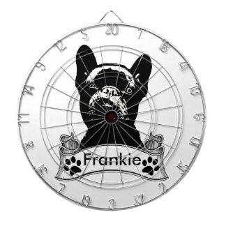 French Bulldog Stencil Personalized Dart Boards