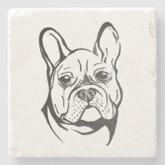 French Bulldog Stone Coaster