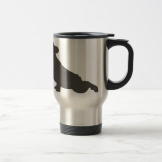 French Bulldog Stretching Travel Mug