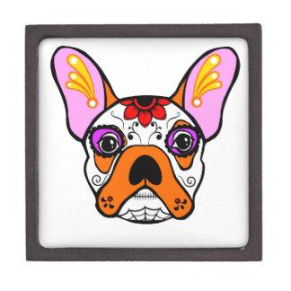 French Bulldog Sugar Skull Gift Box