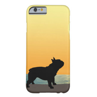 French Bulldog Surfside Sunset Barely There iPhone 6 Case