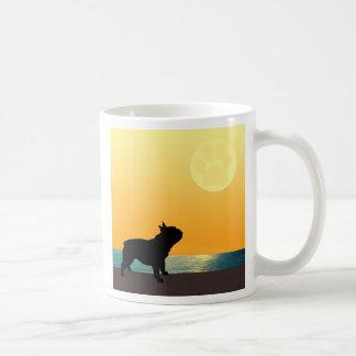 French Bulldog Surfside Sunset Coffee Mug