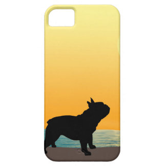 French Bulldog Surfside Sunset iPhone SE/5/5s Case