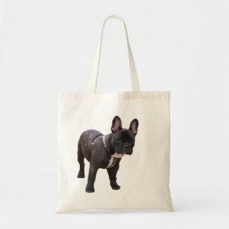 French Bulldog tote bag, gift idea Budget Tote Bag