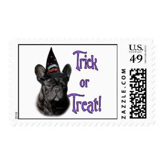 French Bulldog Trick Stamp