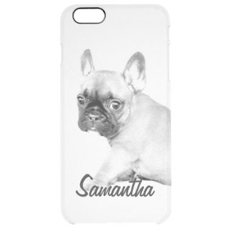 French Bulldog Uncommon Clearly™ Deflector iPhone 6 Plus Case