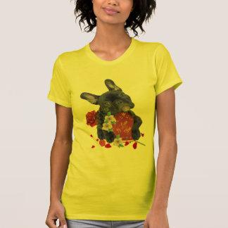 FRENCH BULLDOG VALENTINE APPAREL T-Shirt