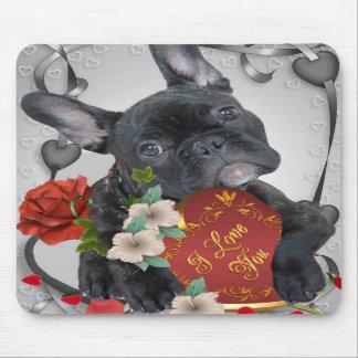 FRENCH BULLDOG Valentine Mousepad