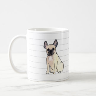 French Bulldog Watercolor Mug