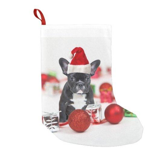 French Bulldog Christmas Ornament.French Bulldog With Christmas Ornaments Small Christmas Stocking