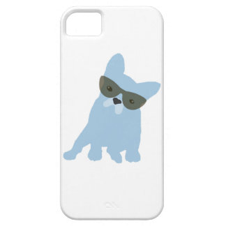 French Bulldog with sunglasses iPhone 5 Cover