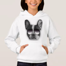 French Bulldog with Sunglasses Hoodie