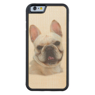 French Bulldog Carved® Maple iPhone 6 Bumper Case