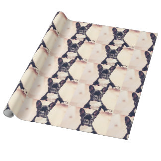 French Bulldog Wrapping Paper