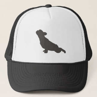 French Bulldog Yoga Pose Trucker Hat