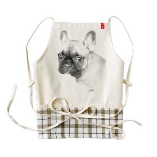 French Bulldog Zazzle HEART Apron