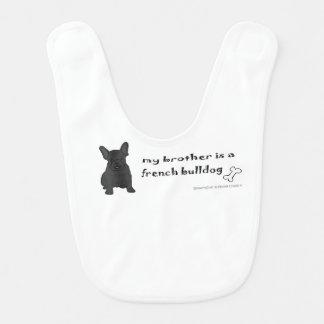 french bulldog baby bibs