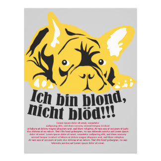 French Bulldogge: Blond! Flyer