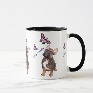 French Bulldogge cup